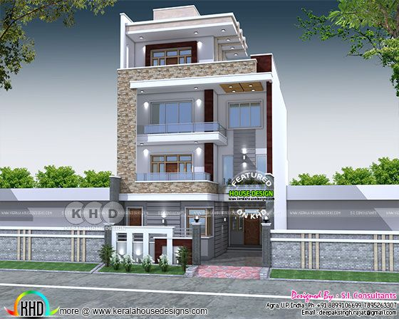 Independent House with Lift