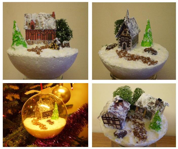 Nowy Rok i Świąteczne Bombki 3D