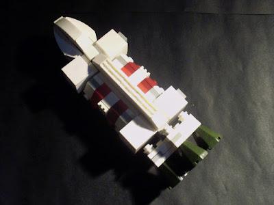 MOC LEGO Águia Espaço1999 (1)