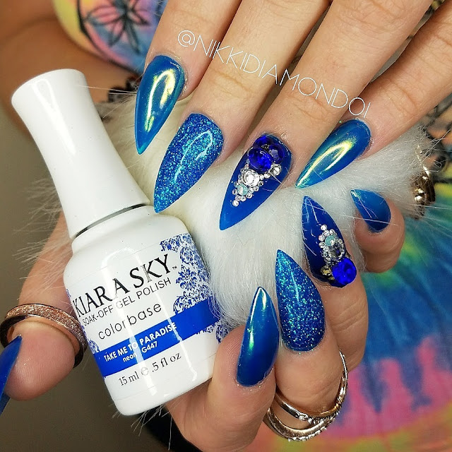 First Look Fridays, Nikki Diamond, nail artist, manicurist, interview, nail art, Kiara Sky