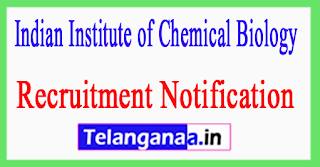 Indian Institute of Chemical Biology IICB Recruitment Notification 2017