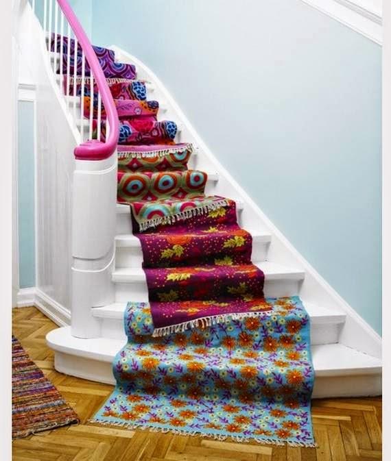 Decoración de escalera