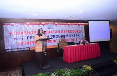 BKKBN Lampung Evalusi Perencanaan Operasional Program Kerja