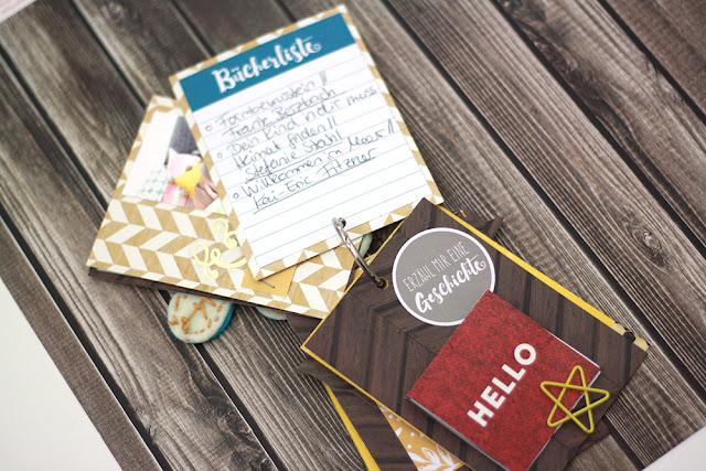 Blog-Hop mit den November-Kits von danipeuss.de | Mini Album zum Thema Gemütlichkeit im Herbst | piecesforhappiness.blogspot.de