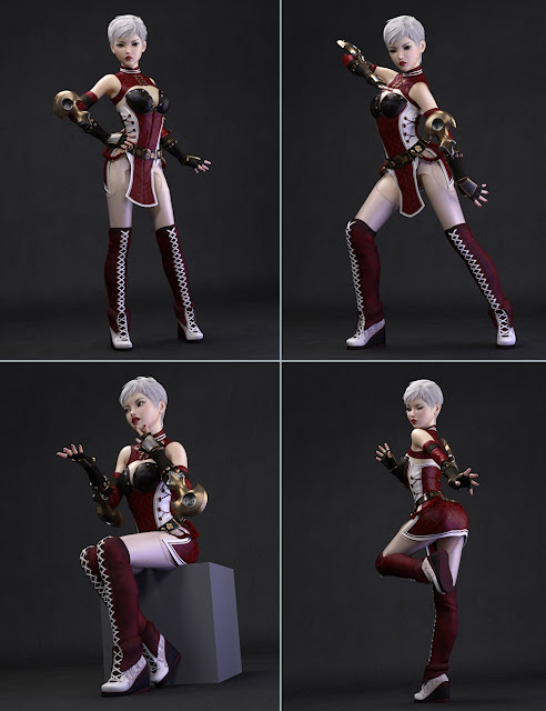 Ikaros Poses and Expressions for Genesis 3 Female