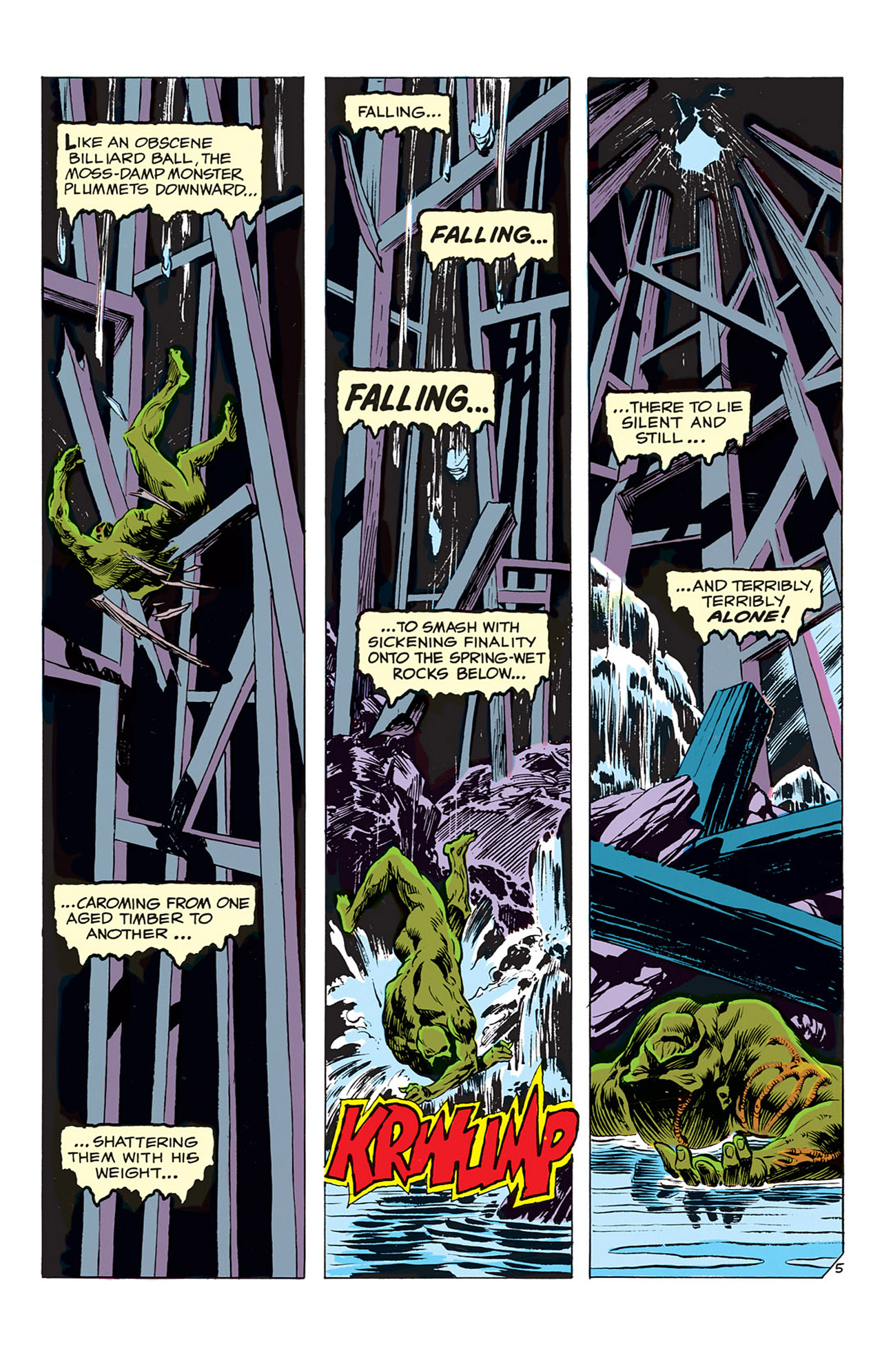Swamp Thing (1972) Issue #3 #3 - English 6