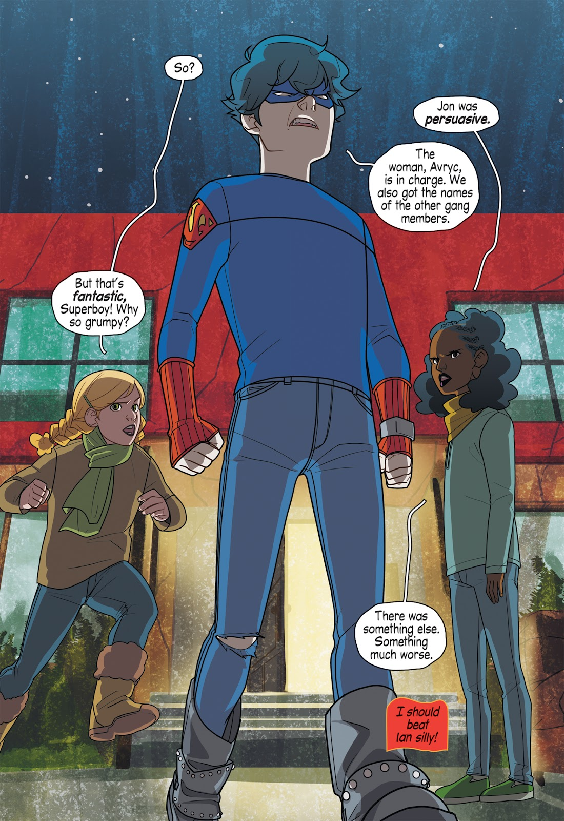 Read online Super Sons (2019) comic -  Issue # TPB The Polarshield Project (Part 2) - 20