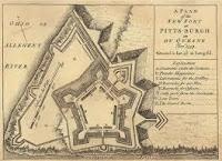 Plano de 1759 de Fort Pitt