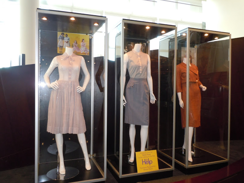 The Help movie costume display