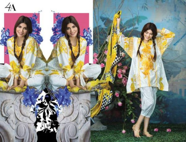 Sana Safinaz formal Luxury Embroidered  Spring summer lawn Collection  2017
