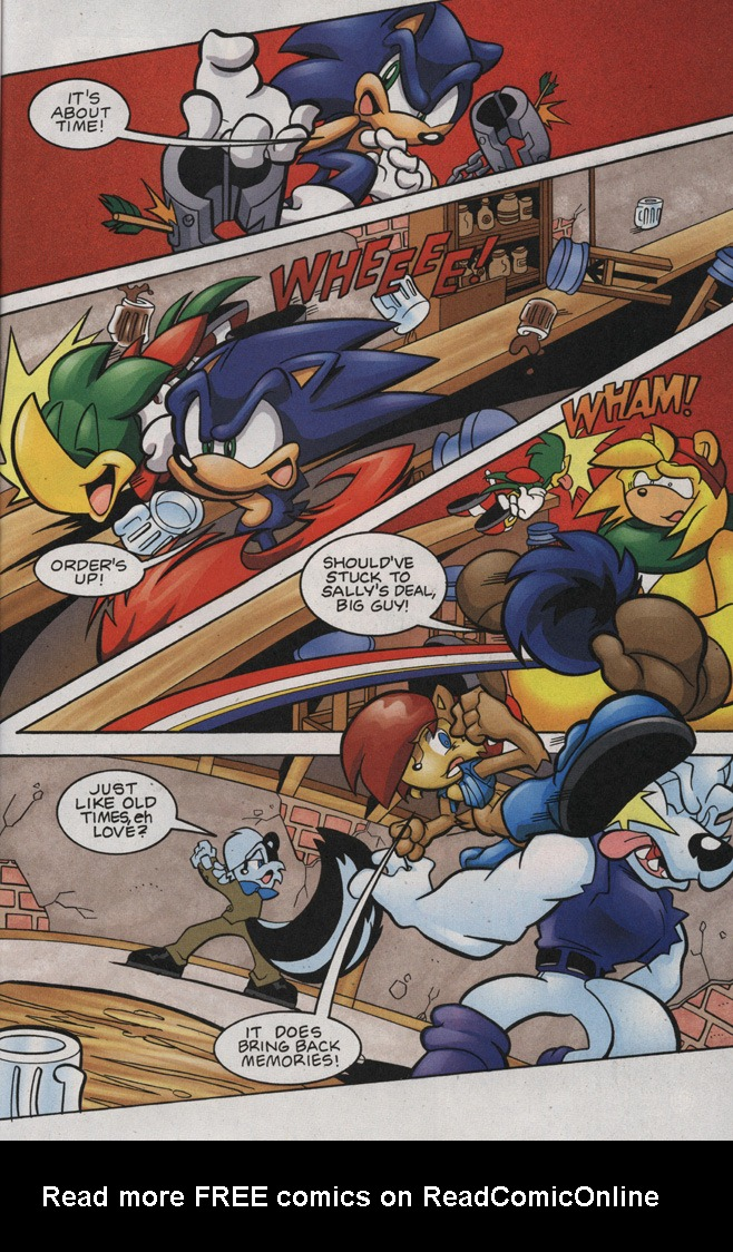 Read online Sonic The Hedgehog comic -  Issue #188 - 17