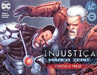 Injustiça - Marco Zero #13