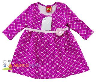 Fornecedor de vestidos infantis para revenda