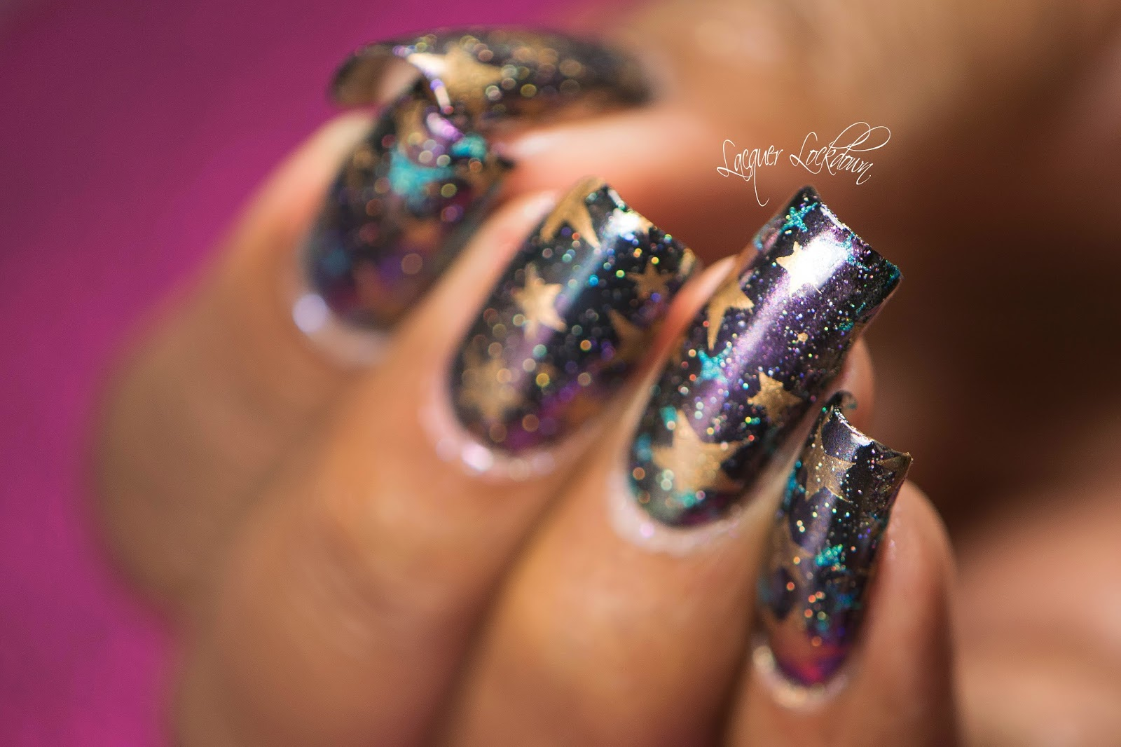 Lacquer Lockdown: Born Pretty Store Galactic Multichrome Mani Nail ...