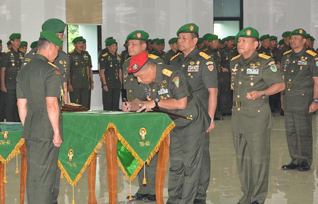 Sertijab Pangdam Iskandar Muda, Tatang Sulaiman ke Aceh