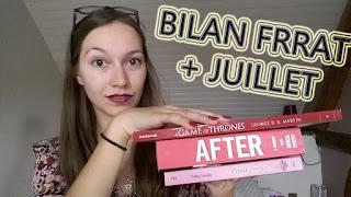 BILAN |  FRENCH READ A THON + JUILLET