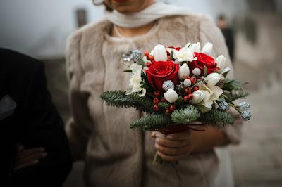 fiori sposa inverno