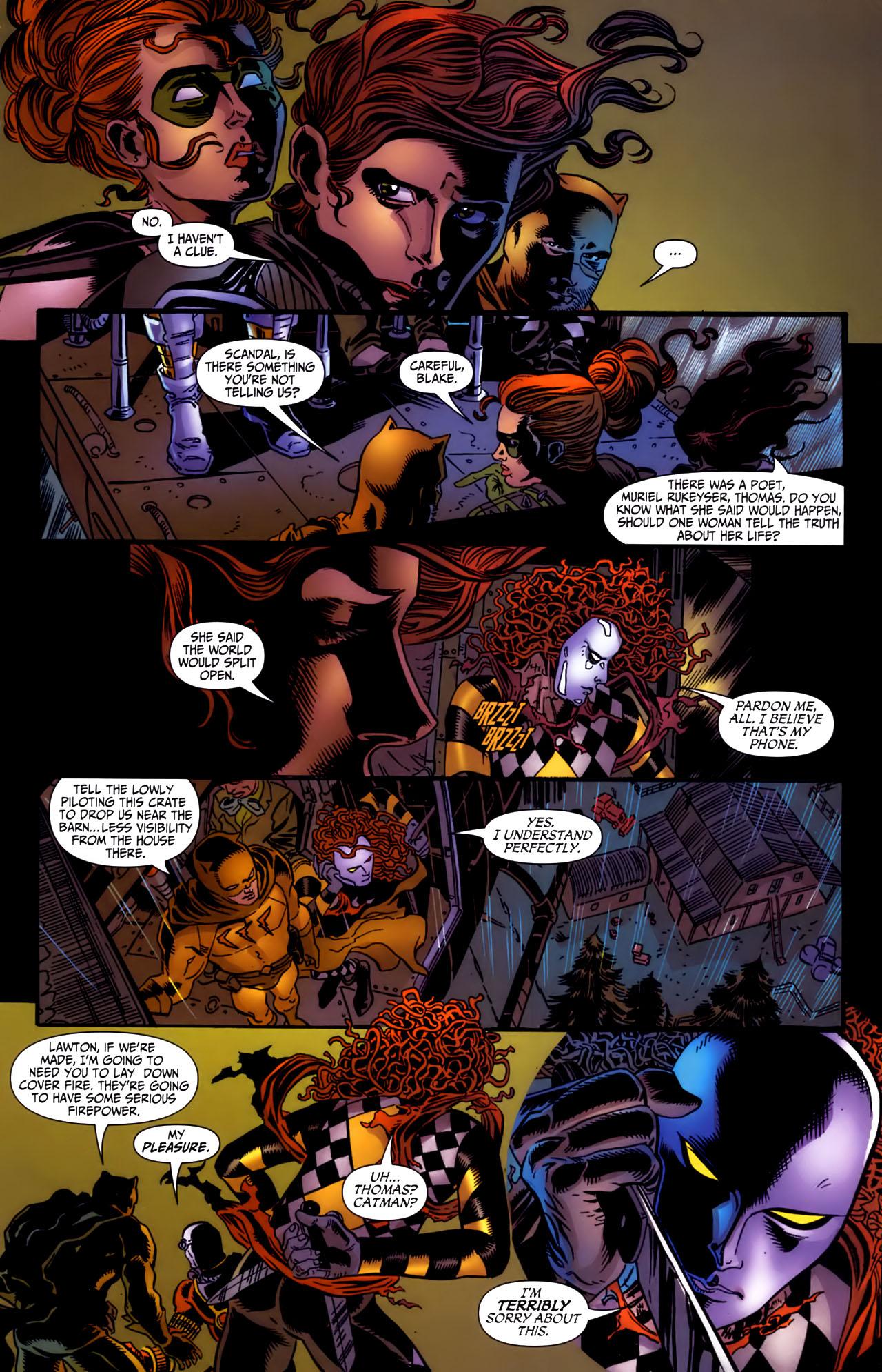 Read online Secret Six (2006) comic -  Issue #3 - 15