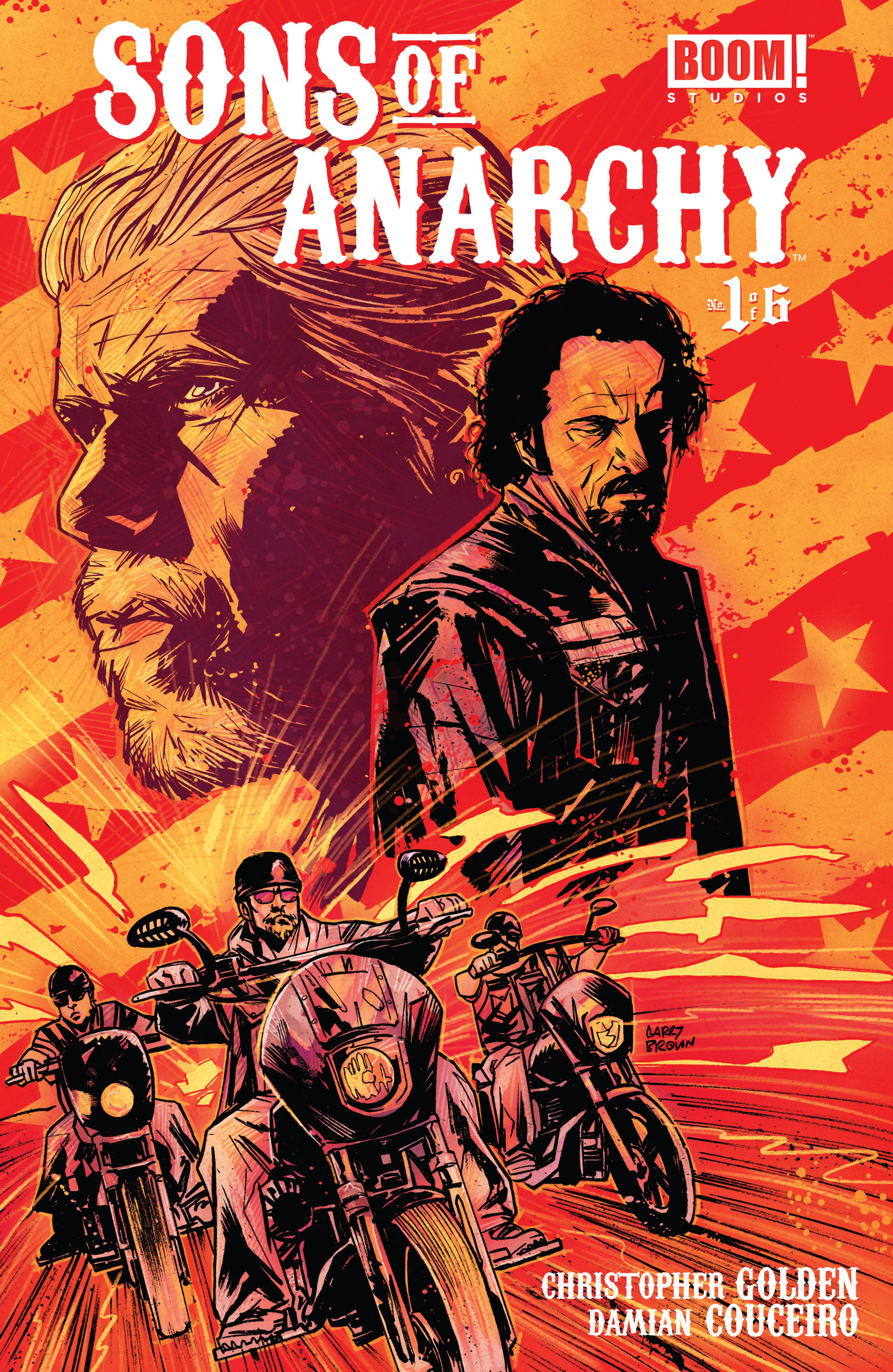 Read online Sons of Anarchy comic -  Issue #1 - 1