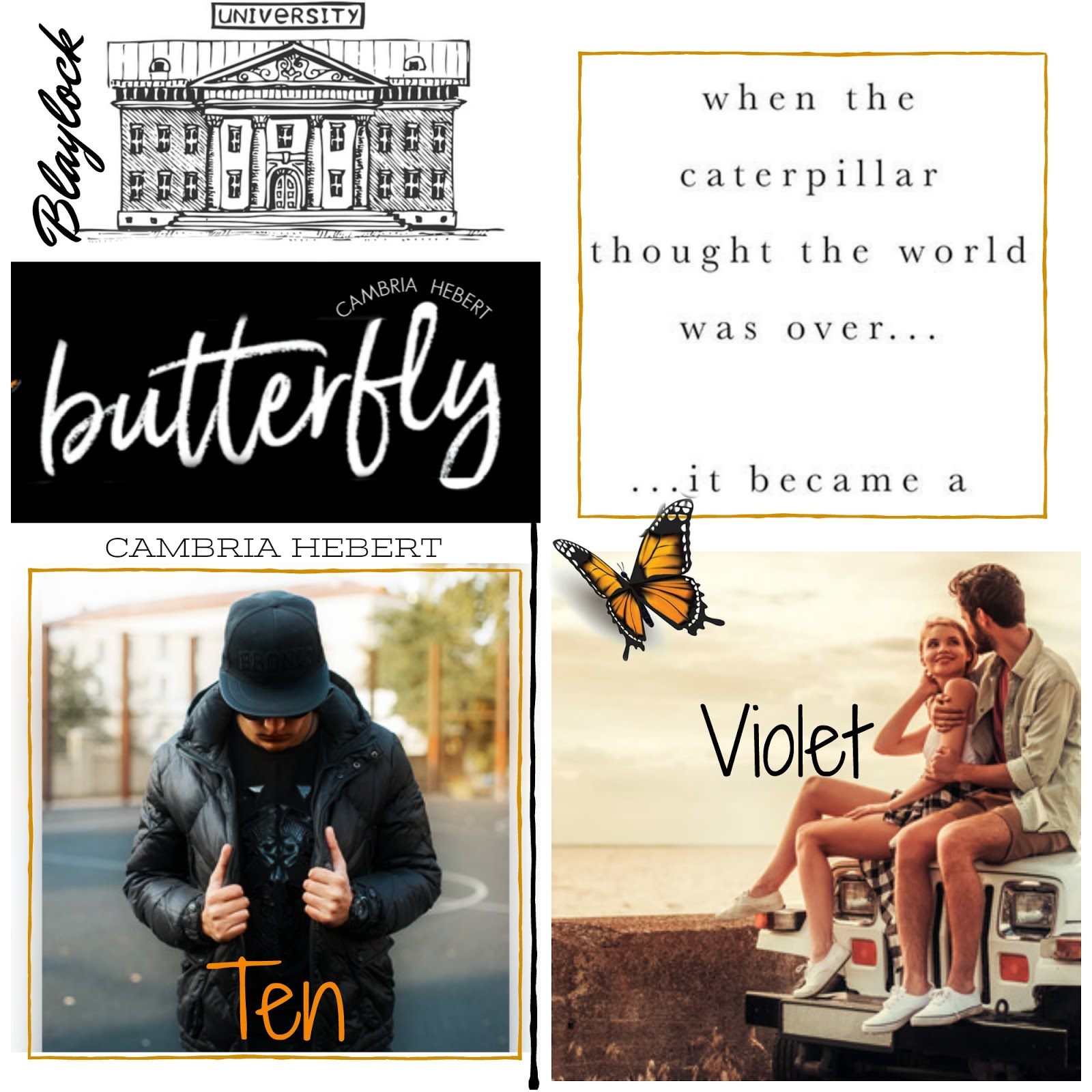 Butterfly Book Blitz