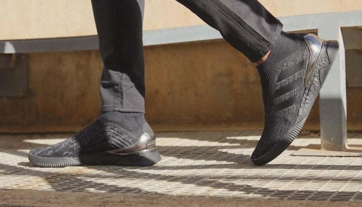 new concept 60f6a c5d94 Black Boost Nitecrawler Adidas Predator Tango 18+ Sneakers Released -  Footy Headlines