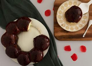 Roscón de Reyes con Glaseado Espejo de chocolate Thermomix