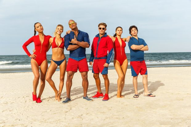 733a536e3f66 Dwayne Johnson and Zac Efron are lifeguards in a movie that never convinces  that it has any reason to exist.