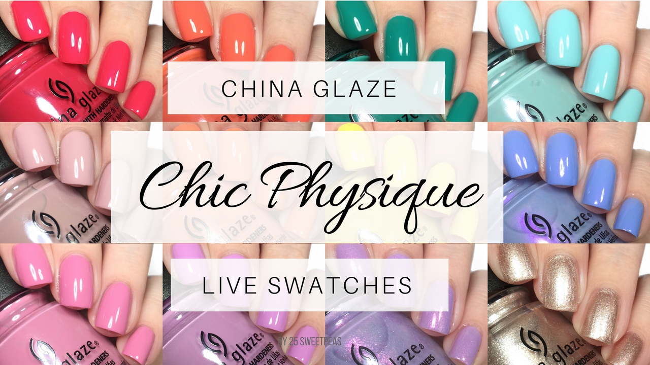 China Glaze Chic Physique Swatches