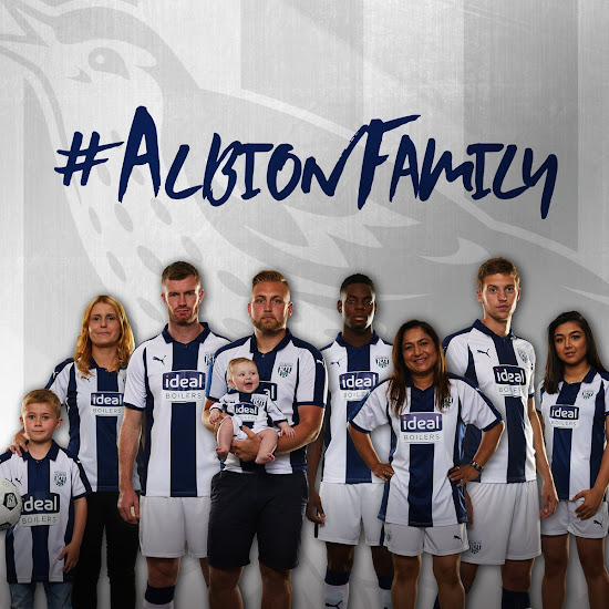 734cb6ee0 No More Adidas - Puma West Bromwich Albion 18-19 Home Kit Released ...