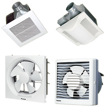 Cara menghitung ukuran exhaust fan