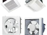 Cara Menghitung Ukuran Exhaust Fan Yang Tepat Untuk Kamar - Ruangan