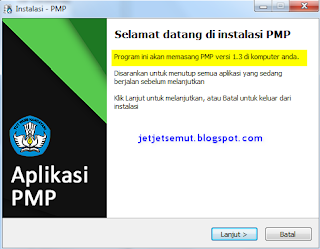 Updater patch Aplikasi PMP 1.3