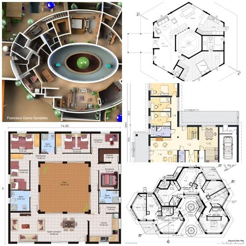 Apuntes revista digital de arquitectura planos de casas for Planos de arquitectura de casas pdf