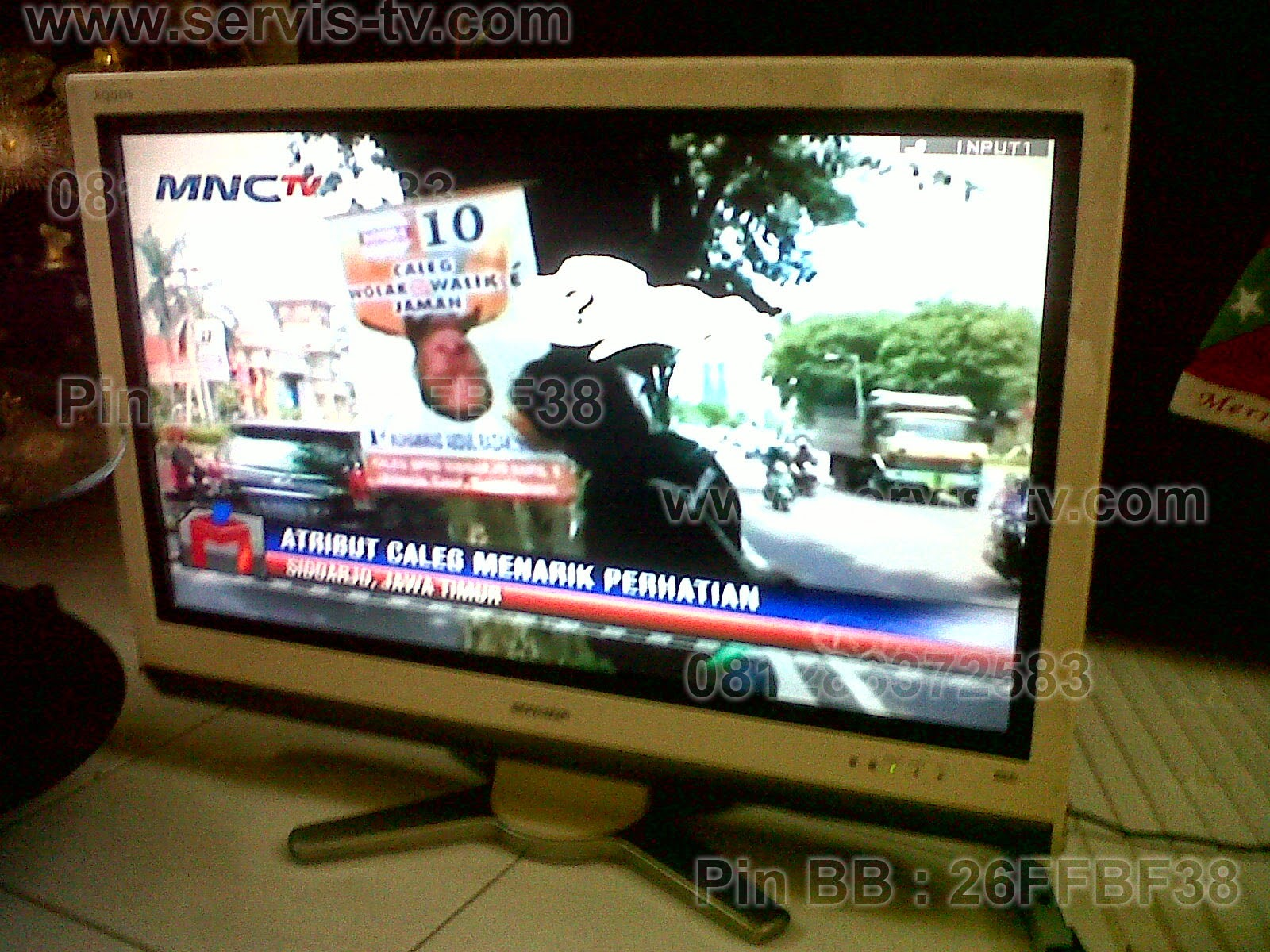 Perbaikan Sharp LCD LED TV
