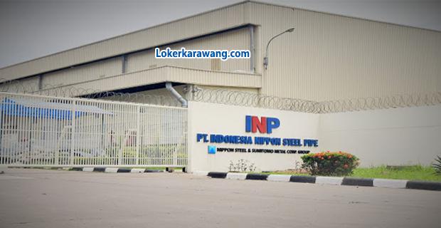 Lowongan Kerja PT. Indonesia Nippon Steel Pipe Kawasan Indotaisei Karawang