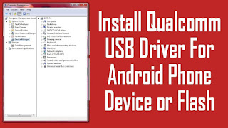 QUALCOMM USB DRIVERS ANDROID
