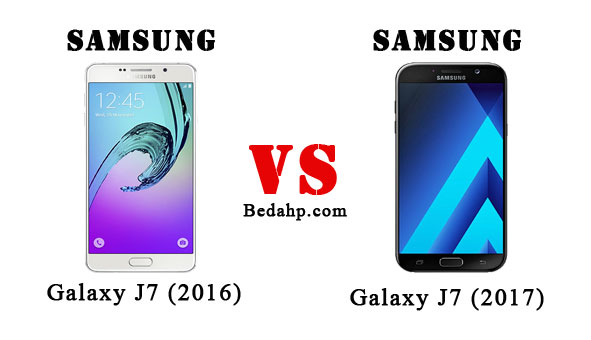 Perbedaan Samsung Galaxy A7 (2017) VS A7 (2016)