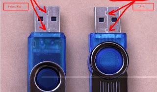 4 Cara membedakan Flasdisk asli atau Palsu