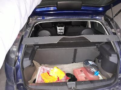 Opel Corsa C trunk