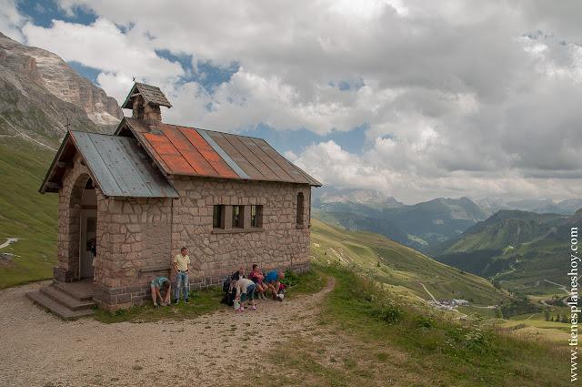 Passo di Pordoi Italia Dolomitas viaje