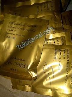 Shisedo Gold Mask Masker Wajah