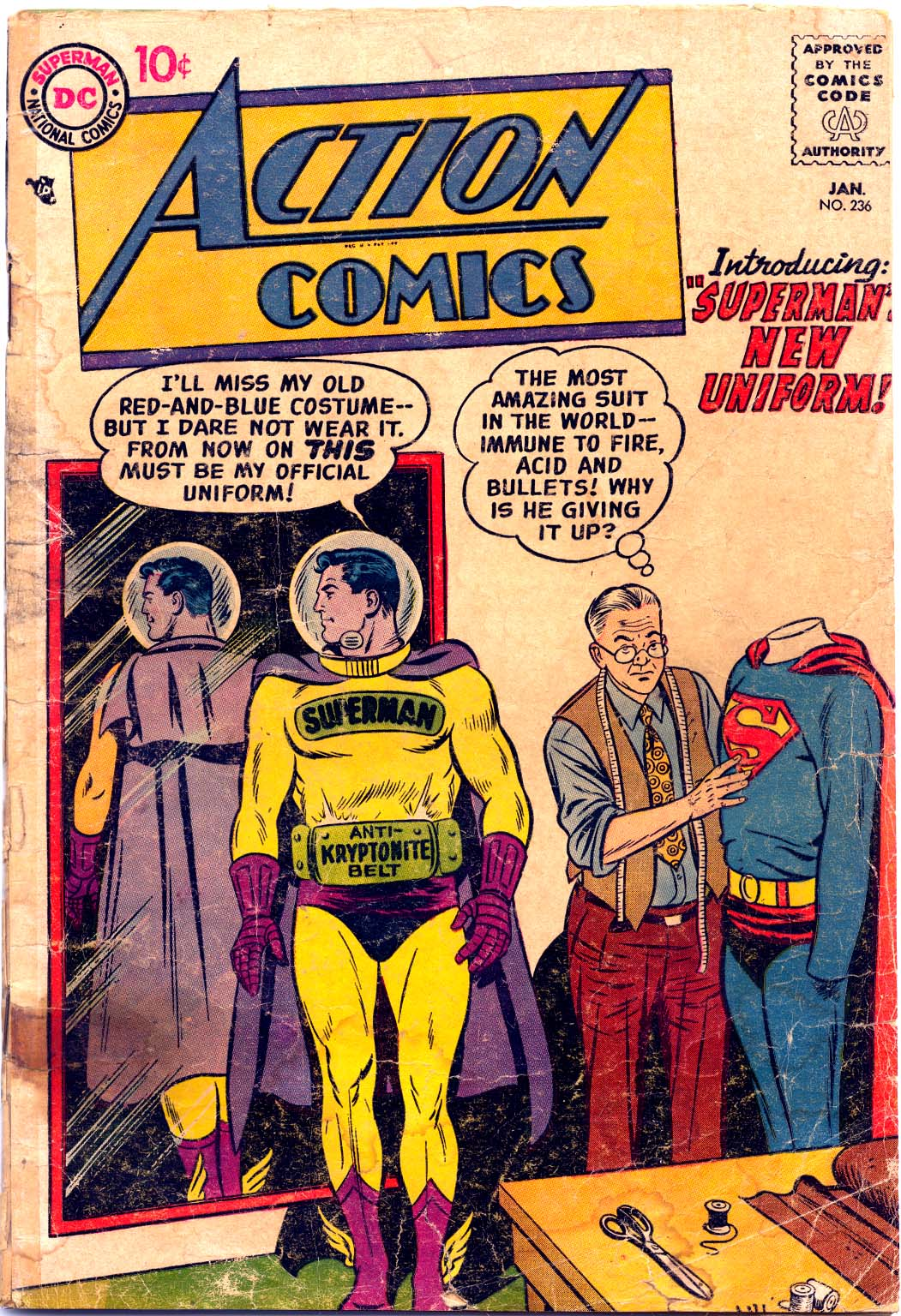 Action Comics (1938) 236 Page 1