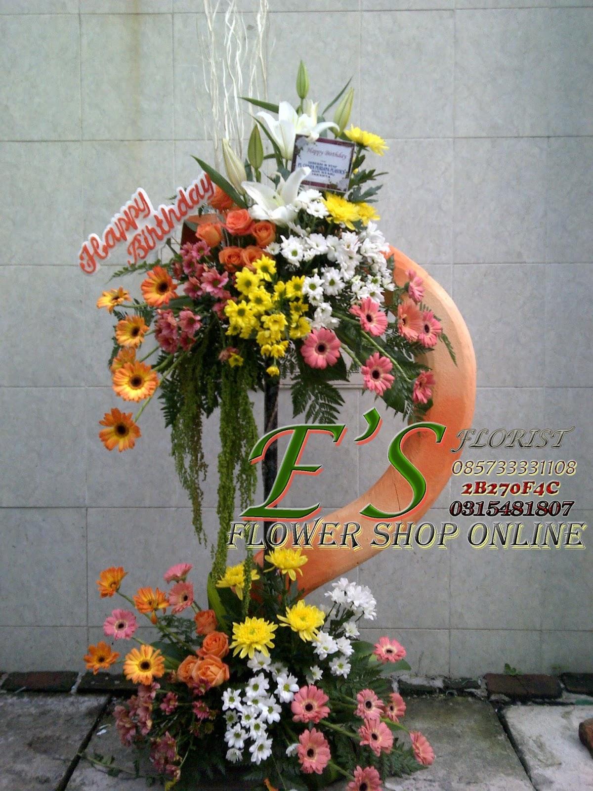 Bunga Ucapan Standing Flower