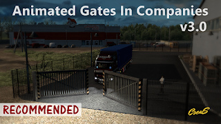 ets 2 animated gates in companies v3.0