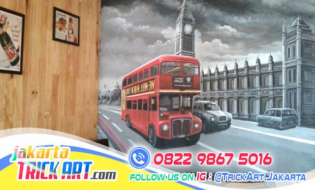 Mural cafe bermanfaat untuk menunjang penampilan dekorasi for Mural untuk cafe