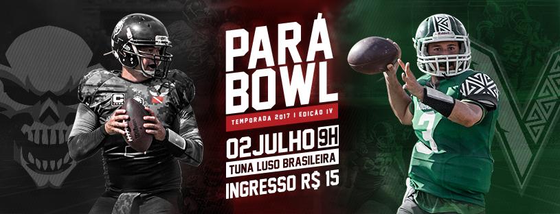 c85f897576 Decisão do Campeonato Paraense 2017 - Pará Bowl IV - FEPAFA. Vingadores X  Legião F.A.