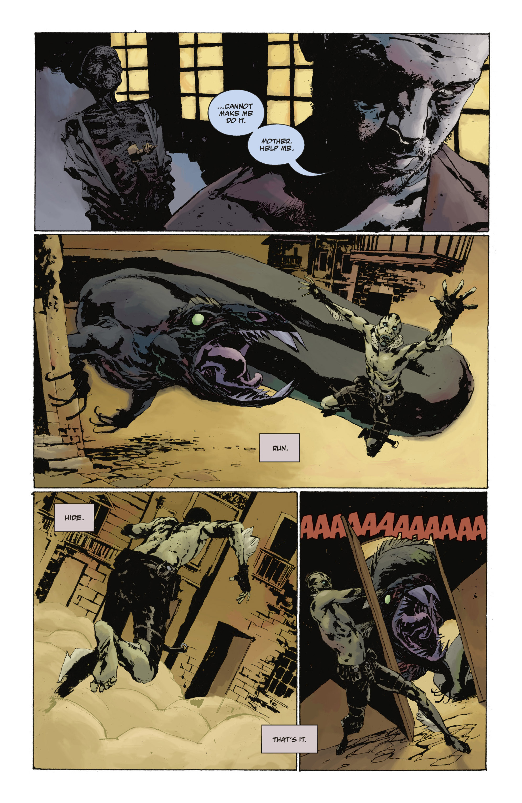 Read online Abe Sapien: The Drowning comic -  Issue #Abe Sapien: The Drowning _TPB - 74