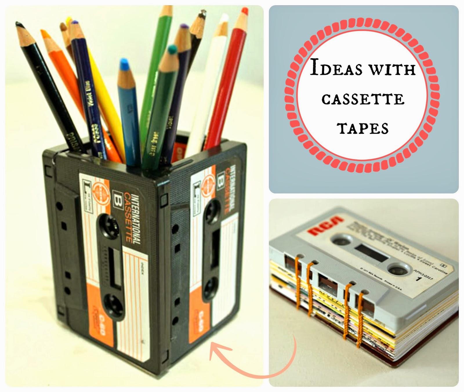 kasety z magnetofonu diy