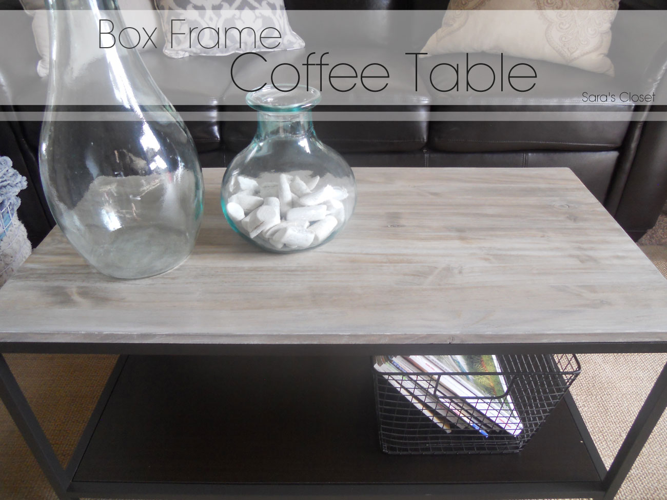 Sl Designs Diy Box Frame Coffee Table