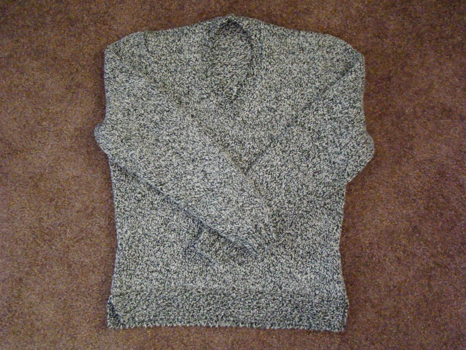 Knitting A Sweater Without A Pattern : Knackful knitter footies and a sweater
